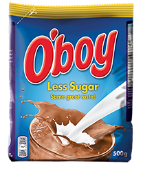 O'Boy Less Sugar